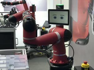 Cute, collaborative and easy to program: Cobot Sawyer