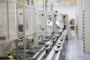 Automated SMT line at CIG